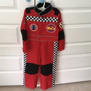 Race car Halloween jumpsuit